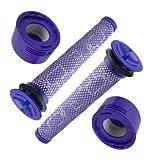 4 filtros para aspiradora Dyson V8 Animal Absolute V7 Extra Plus Pro de repuesto Motorhead filtro premotor accesorios SV10 SV11 DC58 DC59 DC61 DC62