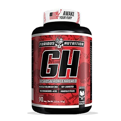 GH - 90 Cápsulas - Furious Nutrition, Furious Nutrition