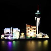 LIGHTAILING Licht-Set Für (Architecture Las Vegas) Modell - LED Licht-Set Kompatibel Mit Lego 21047(Modell Nicht Enthalten)