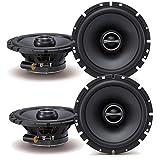 Alpine SPS-610 6-1/2' Coaxial 2-Way Speaker Set Bundle