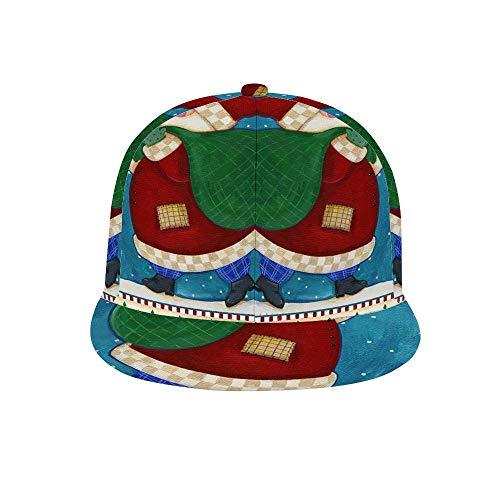 PecoStar, Cappello da Baseball Unisex Regolabile, con Visiera Hip-Hop, Carino Cappello da Baseball per Uomini e Donne