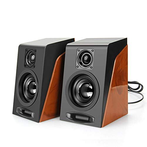 LYA desktop audio, multifunctionele computer, notebook stereo luidspreker, subwoofer, kleine computer-pc met USB 2.0 en 3,5 mm interface, B