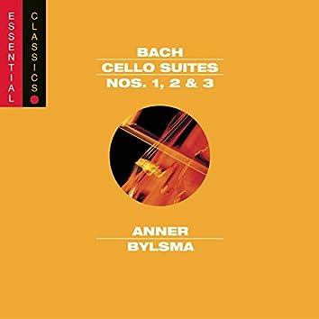 Bach: Cello Suites Nos. 1,2 & 3