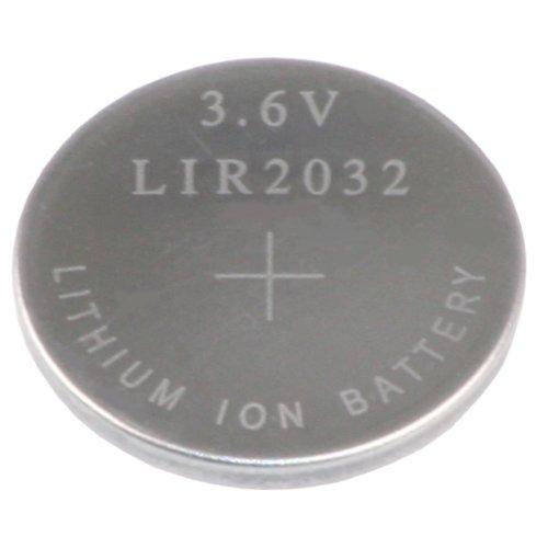 Kraftmax LIR 2032 Knopfzellenakku 3.6V / Li-Ion/Backup Zelle