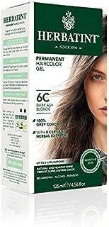 Herbatint Permanent Herbal Haircolor Gel, Dark Ash Blonde, 4.56 Ounce