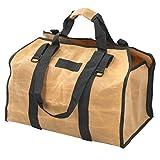 DAUERHAFT Portador de fósforos de leña Resistente, Ligero, Impermeable, Bolsa de leña portátil Duradera, para Estufas de leña, Uso en Interiores y Exteriores