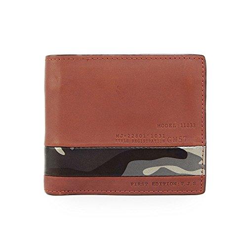 (タフ) TOUGH ブック型二つ折り財布/2つ折財布 カモボックス Camobox 69053 (ブラウン)