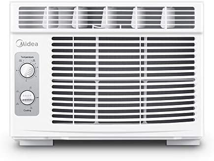 MIDEA MAW05M1BWT Window air conditioner 5000 BTU with Mechanical Controls 7 temperature 2 cooling product image