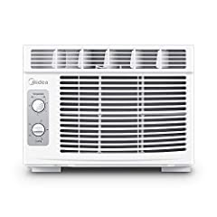 FAST COOLING: 5, 000 BTU window-mounted mini-compact air conditioner is perfect for cooling a room up to 150 square feet. Quickly cools down your home, office, or apartment for maximum comfort EFFORTLESS OPERATION: 7 temperature settings, 2 cooling/2...