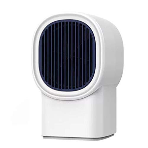 FFZZ Calefactor Bajo Consumo 400W Calefacción Circundante Diseño De Conductos De Aire por Convección Diseño Separado De Elemento Calefactor Y Carcasa Adecuado para Dormitorio, Oficina,Blanco