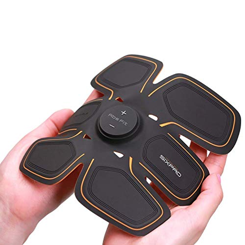 Japanese MTG (M Tea Gee) Sixpad Training Gear/abs Fit Tr - For Abdomen - Get You Ripped Without Even Lifting a Finger By Providing Electric Shocks to Your Muscles - Black