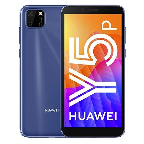 HUAWEI Y5P - Smartphone con Pantalla de 5.45', 32 GB ROM, 2GB RAM, Dual SIM, Cámara de 8MP+5MP, Color Azul