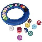 Estuche de costura duradero y reutilizable, gran capacidad, mantiene el hilo organizado y ordenado.