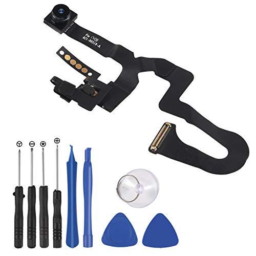 ALMOCN Compatible con cable flexible de cámara frontal OEM con sensor de proximidad luz y micrófono Flex Cable de repuesto para iPhone 7plus (para iPhone 7plus)