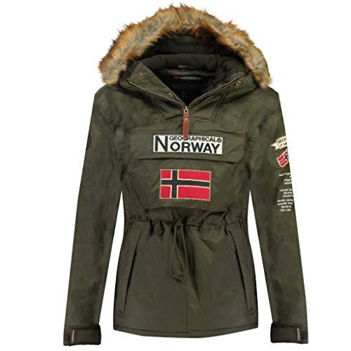 Geographical Norway Parka BOOMERANG hombre CAQUI talla XXL