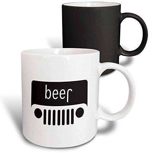 3dRose 266026_3 Mug en céramique Noir/blanc