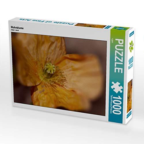 CALVENDO Puzzle Mohnblume 1000 Teile Lege-Größe 64 x 48 cm Foto-Puzzle Bild von ralf Guenther