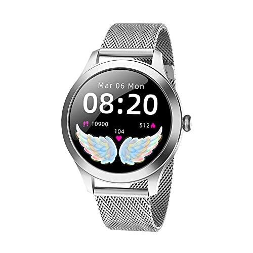 JSL Smartwatch Fitness Tracker Monitor de ritmo cardíaco Monitor de sueño Pantalla táctil Completa Rastreador