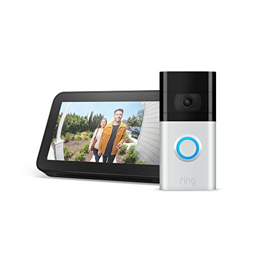 Ring Video Doorbell 3 with Echo Show 5 (30% off)