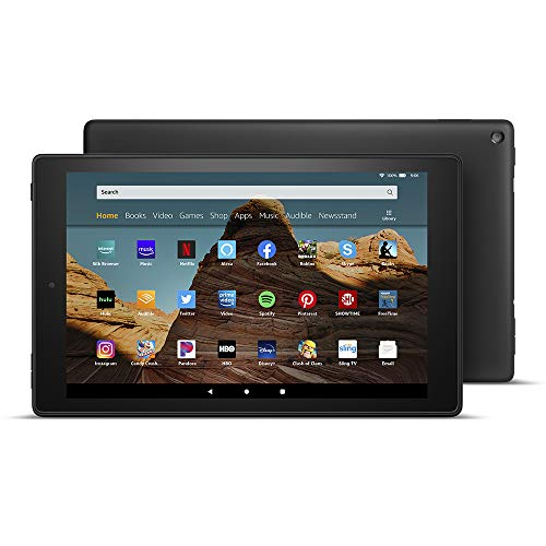 All-New Fire HD 10 Tablet (10.1' 1080p full HD display, 32 GB) – Black - without Special Offers