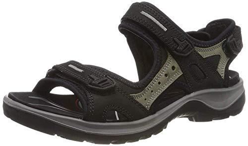 Price comparison product image ECCO Womens Offroad Black Mole Nubuck Sandals 41 EU