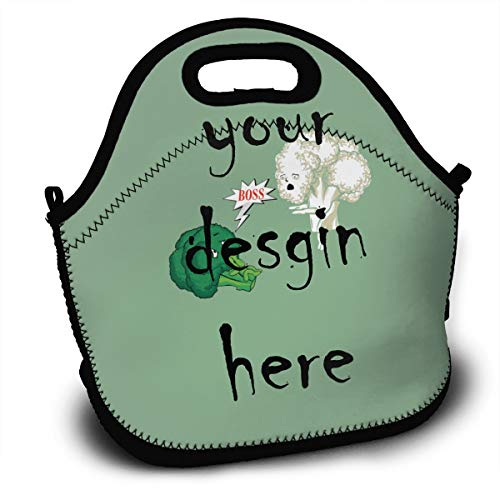 Custom fashion art lunch backpack lunch box handbag the best gift for men women teenage boys and girls