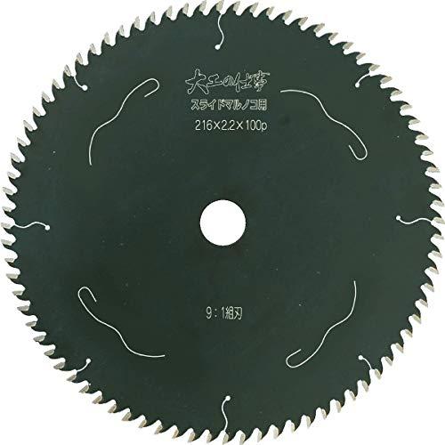 小山金属工業所 チップソー 大工の仕事 スライドマルノコ用 Φ190 99225