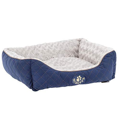 Scruffs Wilton Huisdier Doos Bed, SCF0245 Wilton Doos, S - 50 x 40 cm, Blauw