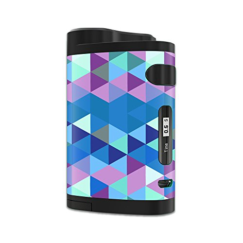 MightySkins Skin Compatible with Eleaf iStick Pico Dual – Purple Kaleidoscope | Protective, Durable, and Unique Vinyl Decal wrap Cover | Easy to Apply, Remove, and Change Styles | Made in The USA