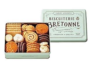 ビスキュイテリエ ブルトンヌ ブルターニュ クッキーアソルティ 1缶(46個入) クッキー ギフト 贈り物 ご進物