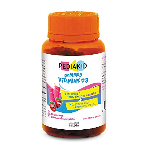 Pediakid Vitamin D3 60 Erasers