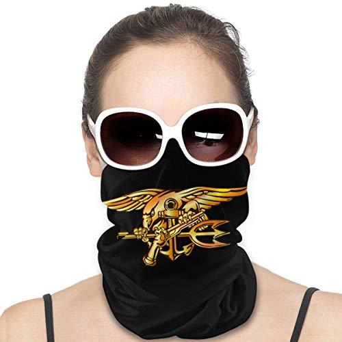 Us Navy Trident Seal - Protector facial multiuso para pasamontañas 🔥