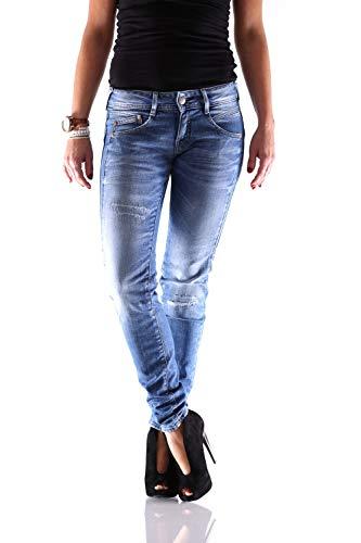 Herrlicher Gila Slim Kaschmir Denim D9020 834 Damen Jeans Hose, Hosengröße:W31/L32