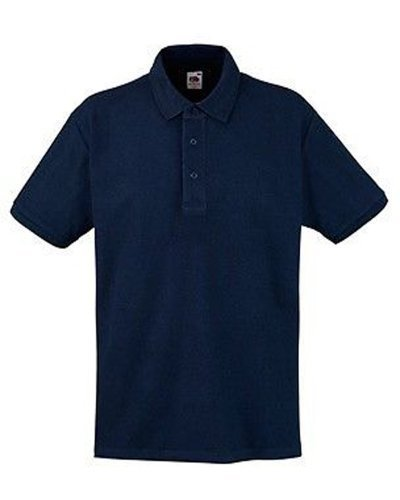 Fruit of the Loom - Polo - Homme, Bleu, Small
