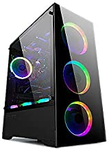 Bgears b-Voguish Front and Side with Tempered Glass Mid Tower case Support E-ATX Motherboard