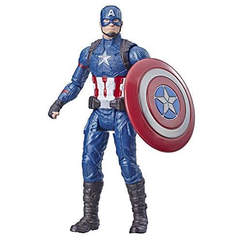 Avengers - Captain America, Action Figure Personaggio Giocattolo (15cm)