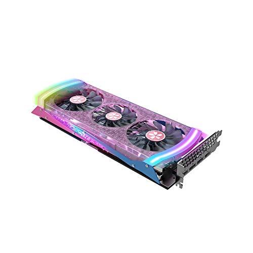 Leepesx Yeston RX5700XT-8G D6 YA Grafikkarte Navi10 7-nm-PCI Express 4.0-GPU mit geringem Stromverbrauch