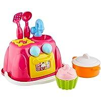 Theo Klein-2251 Barbie Playa Cocina, Juguete, Multicolor (2251)