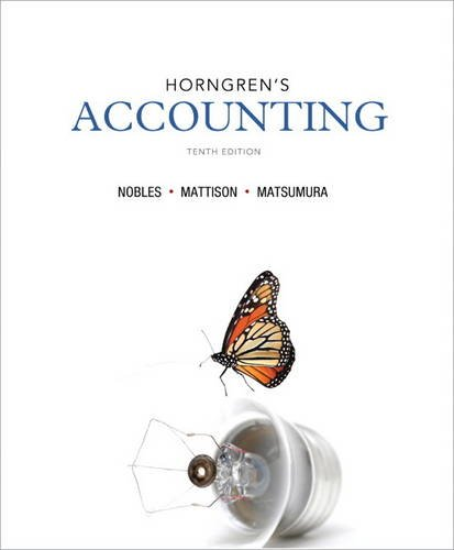 Horngren's Accounting (10th Edition)