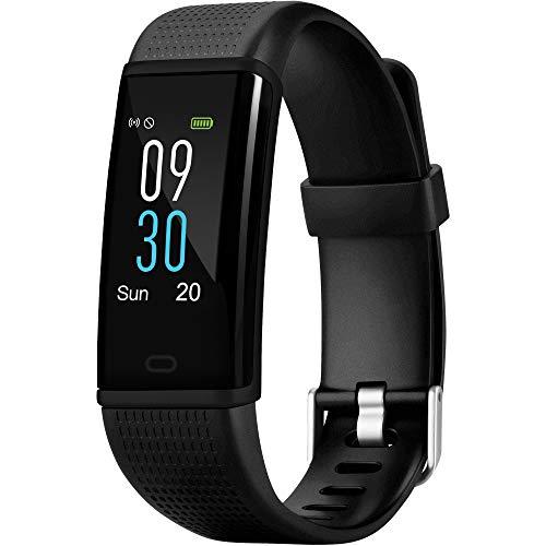 acme ACT307 Fitness Tracker GPS I Smartwatch Damen Herren I Fitness Armband I Fitness Uhr Pulsmesser Herzfrequenz Schrittzähler Schlafüberwachung Wasserdicht IP68