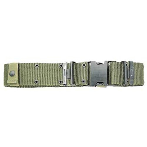 U.S. G.I. Military Surplus Pistol Belt with Black Quick-Release Buckle Olive Drab-Medium