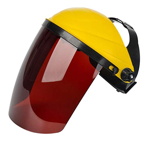 Amosfun Protector Facial de Seguridad Soldadura Eléctrica Protector Facial Tipo Montado en...