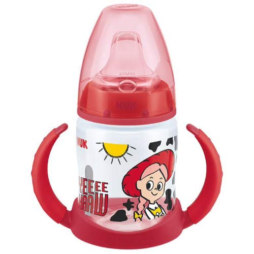 Nuk First Choice Biberon d'apprentissage Motif Disney Toy Story Rouge 150 ml 6-18 m