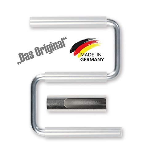 Fried Elements Türhebebügel und Plattenträger - EDITION 2020 - verbesserter Silikonschlauch jetzt mit Supergripp - DAS ORIGINAL - MADE IN GERMANY!!!