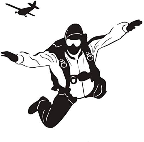 57x64cm Paracaidismo Buceo Etiqueta de la pared Etiqueta engomada del diseño personalizado