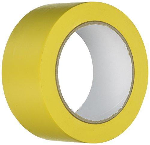 S21 Señalización AC-020 - Cinta autoadhesiva, color Amarillo, 33 m x 50 mm