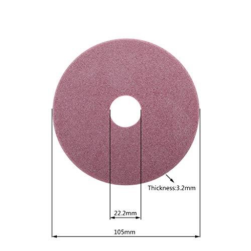smallJUN Elektrischer Kettensägenschärfer Diamantschleifscheibe 98,105,145mm Dicke 3,2,4,5mm Kantenschneiden und Polieren Kettensägezähne