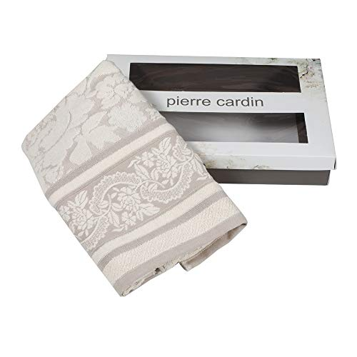 Vania Pierre Cardin - Juego de toallas 1 + 1, color gris