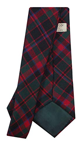 I Luv Ltd Gents Neck Tie Cumming Hunting Modern Tartan Lightweight Scottish Clan Tie