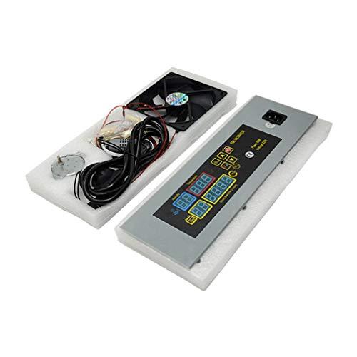 YLWL Inkubatorregler erwärmt Sich gleichmäßig und verbraucht wenig Strom Digitale Sonde Stabiles Leistungshandbuch Inkubator (Mehrfarbig EU)